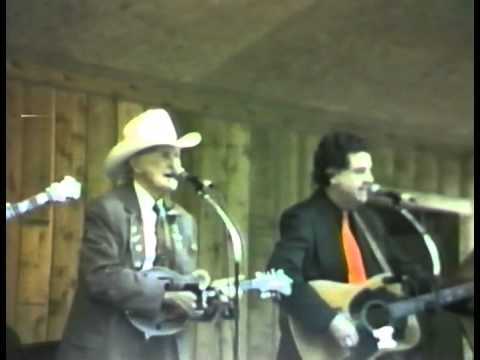 Bill Monroe and Larry Sparks - In the Pines