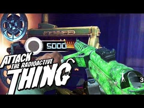 ATTACK OF THE RADIOACTIVE THING: PACK A PUNCH GUIDE! (HOW to PAP on IW Zombies DLC 3)