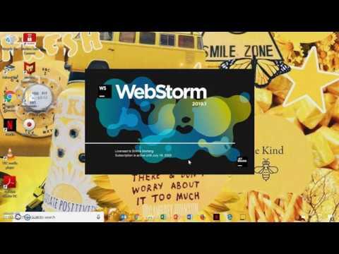Installing Webstorm