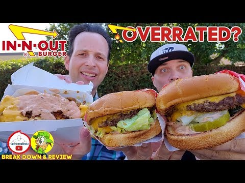 Is IN-N-OUT® Overrated? |  Double Double Animal Style Review W/ Peep This Out | West Coast Series
