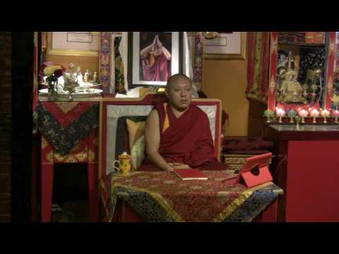 Awarenesses and Knowers with Geshe Ngawang Tenley (9/28/2016)