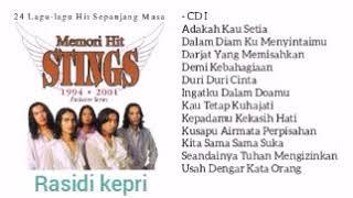 MEMORI HIT ST1NG5 CD 1