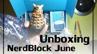 Unboxing Nerd Block June 2014