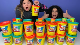 Don't Choose the Wrong GIANT Play-Doh Slime Challenge