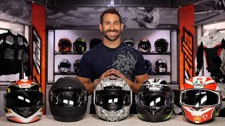 Best Full Face Motorcycle Helmets Under $200 at RevZilla.com