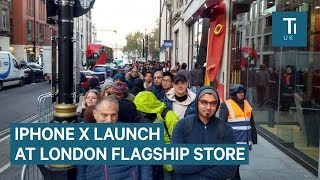Gambar cover How London Reacted To The Launch Of The iPhone X