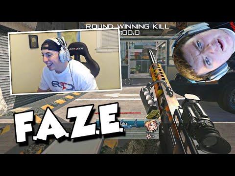 HE IS THE BEST TRICKSHOTTER WTF! (MW2 FAZE Game vs Nudah)