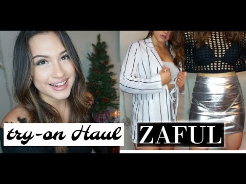 TRY ON HAUL ZAFUL ~ coupon code
