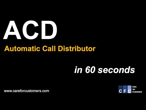 Call Center Management - ACD (Automatic Call Distributor)