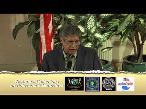 "'America's Genocide"" - Steve Melendez-American Indian Genocide Museum President 2014"