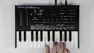 """""""Functions for Performance"""" Roland D-05 #02"""