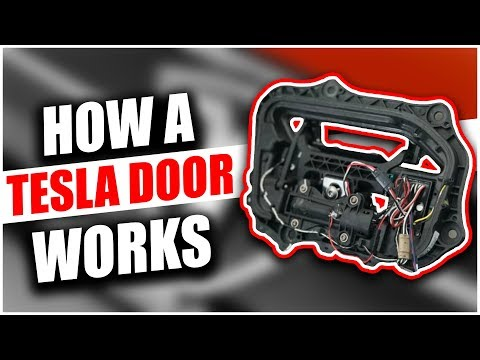 How A Tesla Door Handle Works