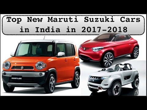 Top New Upcoming maruti suzuki cars in India 2017 2018 with price and launch date mp4