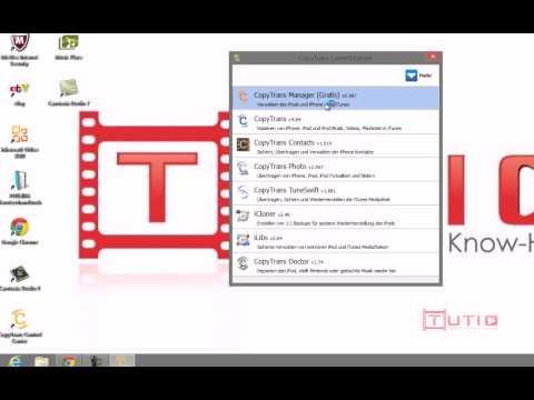 Tutio: Musik/Dateien Auf Iphone,Ipad, Ipod Ohne Itunes Synchronisieren [German Tutorial]