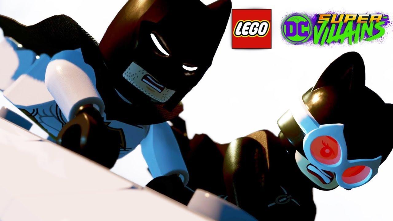 LEGO DC SUPER VILLAINS All Batman Scenes