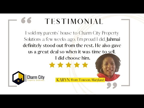 Charm City Property Solutions Review | Sell My House Fast in Baltimore, Maryland