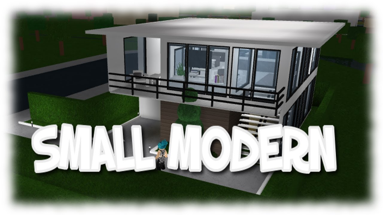 Roblox THANK YOU FOR 300 SUBS SMALL MODERN HOUSE