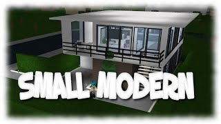 Roblox| THANK YOU FOR 300 SUBS| SMALL MODERN HOUSE| Bloxburg