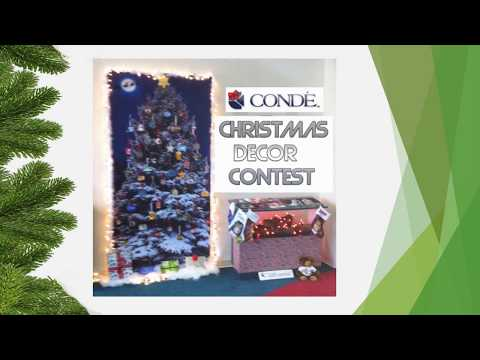 Conde Client Gallery Christmas Decor Contest Entries - 2017