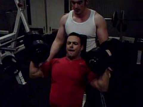 Scott Mackenzie Arnold Press!! 35kg 8 Reps
