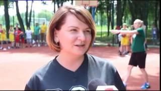 В Івано-Франківську День захисту дітей відзначили грою у баскетбол