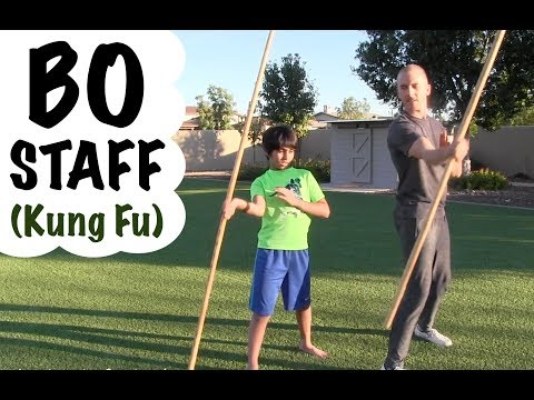 Learning The BO STAFF   Spin #2