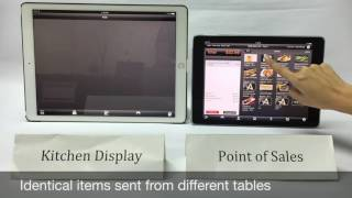 Ruby is a kitchen display system app that runs on an ipad. it more accessible alternative to conventional printer as every order coming in ...