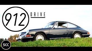 Porsche 912 Coupé 1966 - Test drive in top gear - Engine sound | SCC TV
