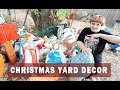 COMING OUT CHRISTMAS YARD DECOR