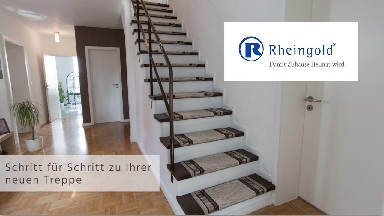 Bekannt Rheingold: Schritt für Schritt zu Ihrer neuen Treppe - YouTube SN74
