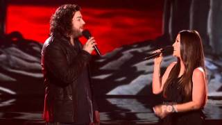 Alanis Morissette Duets Josh Krajcik With  on X Factor Finale (HD)