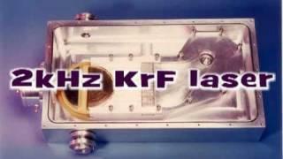 KrF 2kHz TiO2excimer laser.mpg
