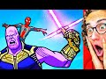 ULTIMATE SUPERHERO ANIMATIONS Which Will Blow Your Mind!