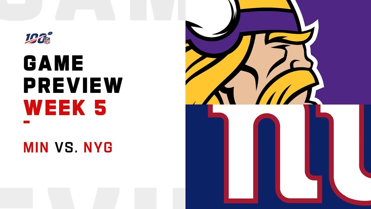 Giants vs. Vikings: Preview, predictions, what to watch for