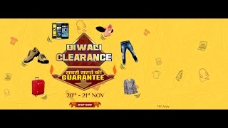 Diwali Clearance Sale -  Two Days of Best of Diwali Deals