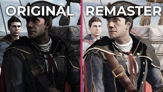 Assassin's Creed 3 – Original vs. Remaster Graphics Comparison & Frame Rate Test