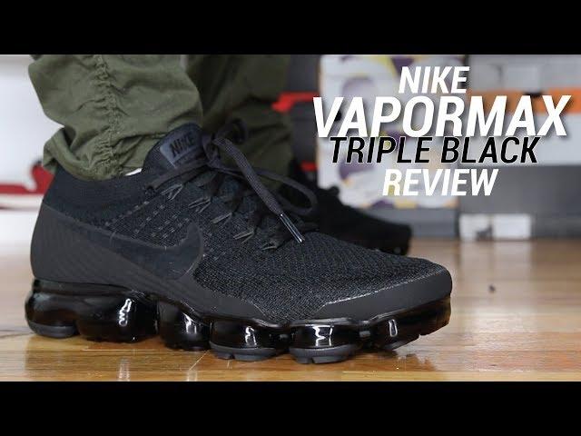 Seth fowler nike vapormax triple Noir review