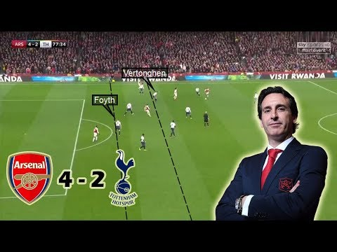 Emery's Game-Changing Substitutions | Arsenal vs Tottenham 4-2 | Tactical Analysis Mp3