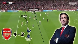 Emery's Game-Changing Substitutions | Arsenal vs Tottenham 4-2 | Tactical Analysis
