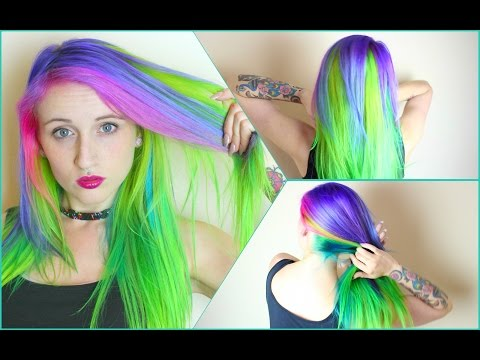 ✖ Mystic Alien Hair Dye Tutorial ✖