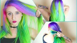✖ Mystic Alien Hair Dye Tutorial ✖