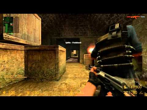 Counter Strike: Source w/ Gassy, Sp00n, Kootra, and Fans Part 1 (Live Commentary)