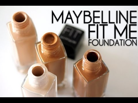 How To Use Maybelline Fit Me Foundation Tutorial /How To Apply