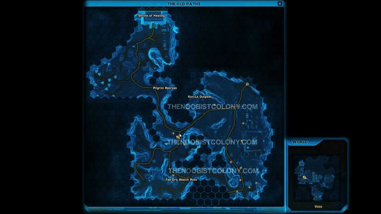 Swtor Grade 4 5 Archaeology Farming Route For