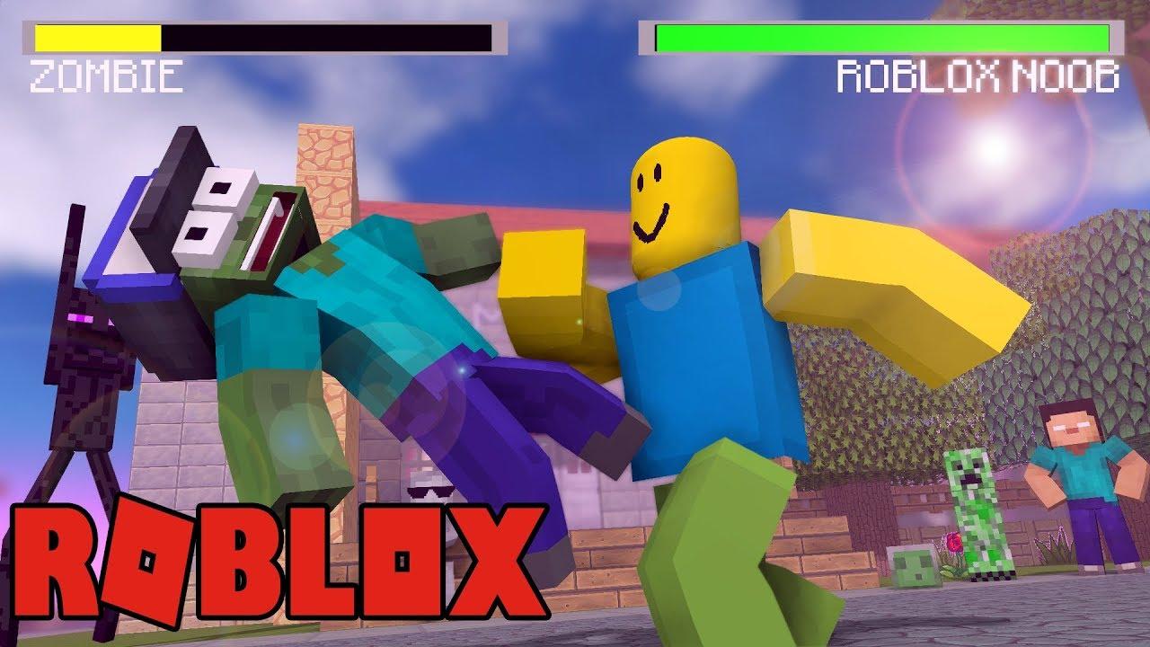 Monster School Vs Roblox Minecraft Animation Youtube