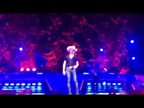 """Small Town USA"" (Encore Intro) Justin Moore Live In Cleveland, Ohio 4/17/14"
