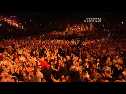 Noel Gallagher - Don't Look Back in Anger at Comic Relief, Wembley Arena 2013