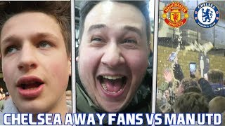 MAN UNITED vs CHELSEA *VLOG* - Kicked Out By Security At Old Trafford