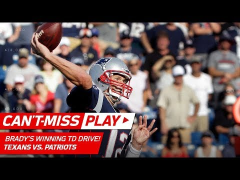 Tom Brady Puts Together Clutch Game-Winning TD Drive! | Can