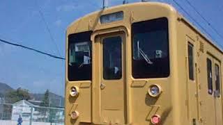 末期色のJR可部線105系 K09編成の在りし日の姿